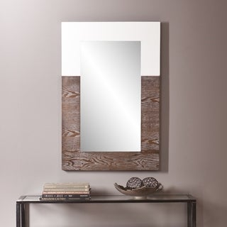 Holly and Martin Wagars Burnt Oak/ White Mirror - Oak
