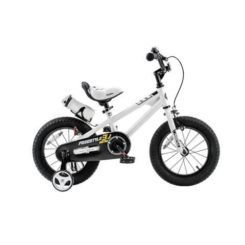 RoyalBaby BMX Freestyle 12-inch Kids' Bike with Training Wheels