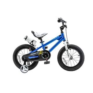 RoyalBaby BMX Freestyle 14-inch Kids' Bike with Training Wheels|https://ak1.ostkcdn.com/images/products/9821982/P16986743.jpg?impolicy=medium