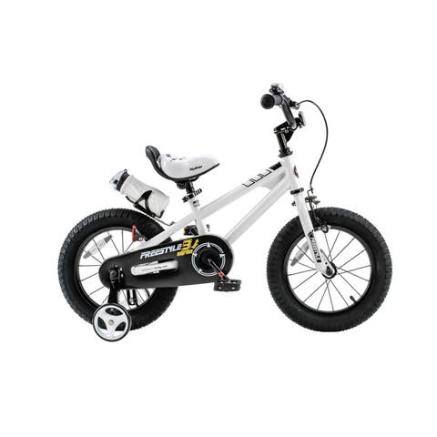 RoyalBaby BMX Freestyle 14-inch Kids' Bike with Training Wheels