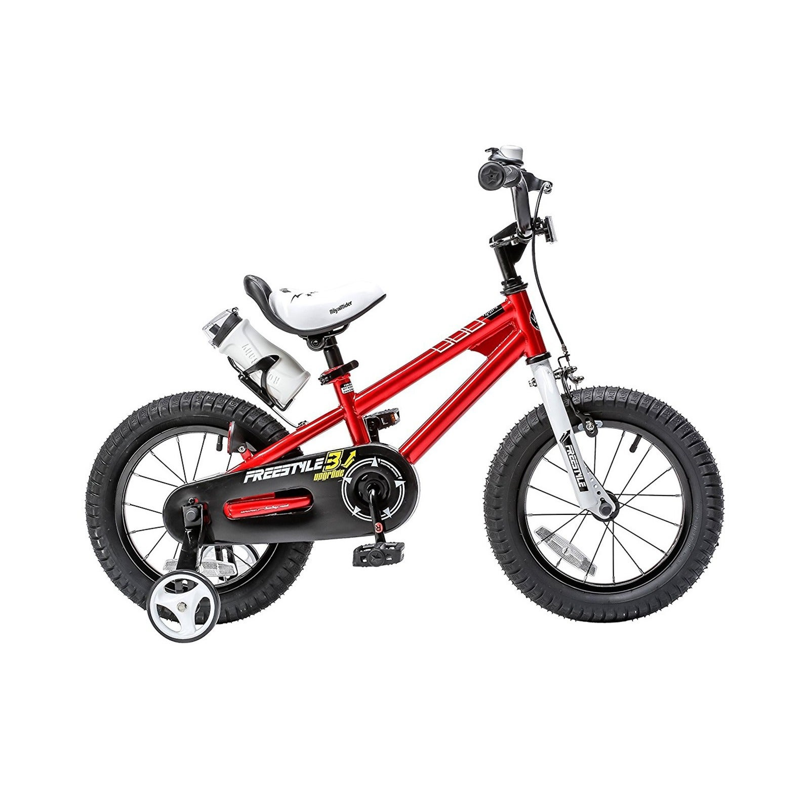 RoyalBaby BMX Freestyle 14-inch Kids' Bike with Training ...