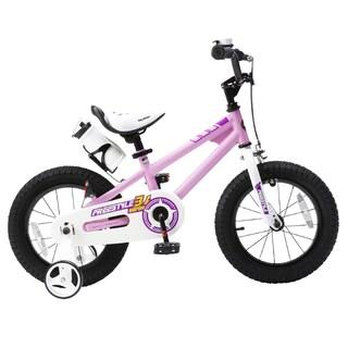 RoyalBaby Kids' Steel/Plastic 16-inch BMX Freestyle Bike with Training Wheels