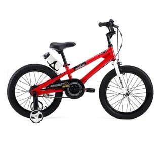 RoyalBaby BMX Freestyle 18-Inch Kids' Bike with Training Wheels