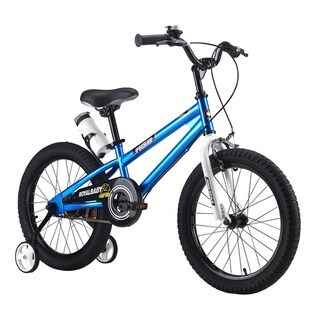 RoyalBaby BMX Freestyle 18-inch Kids Bike with Training Wheels