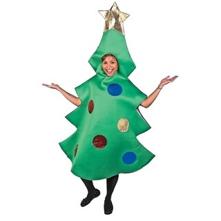Adult Standard Size Christmas Tree Costume