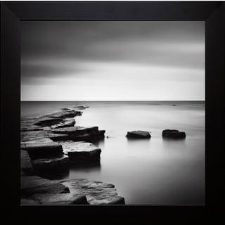 Nina Papiorek 'Coastal Calm' Framed Artwork