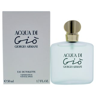 Giorgio Armani Acqua di Gio Women's 1.7-ounce Eau de Toilette Spray