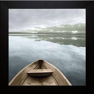 Monte Nagler 'Lake Quinault' Framed Artwork