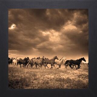 Adam Jahiel 'Remuda #6' Framed Artwork