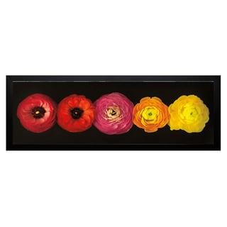 Assaf Frank 'Ranunculus' Framed Artwork