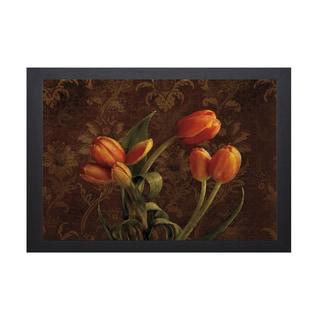 Pahl Janel 'Fleur De Lis Tulips' Framed Artwork
