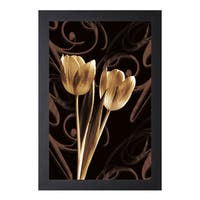 Ily Szilagyi 'Floral Eloquence l' Framed Artwork