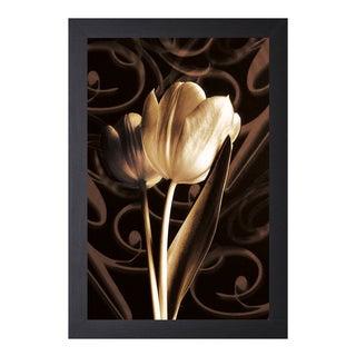 Ily Szilagyi 'Floral Eloquence ll' Framed Artwork