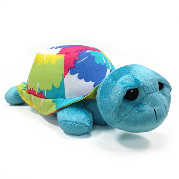 One Grace Place Terrific Tie Dye Stuffed Toy Turtle