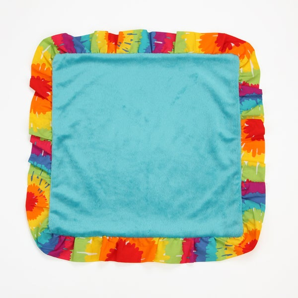 One Grace Place Terrific Tie-dye Binky Blanket