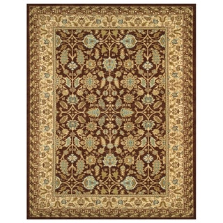 Grand Bazaar Wilshire Area Rug in Chocolate/ Latte - 9'8 x 13'