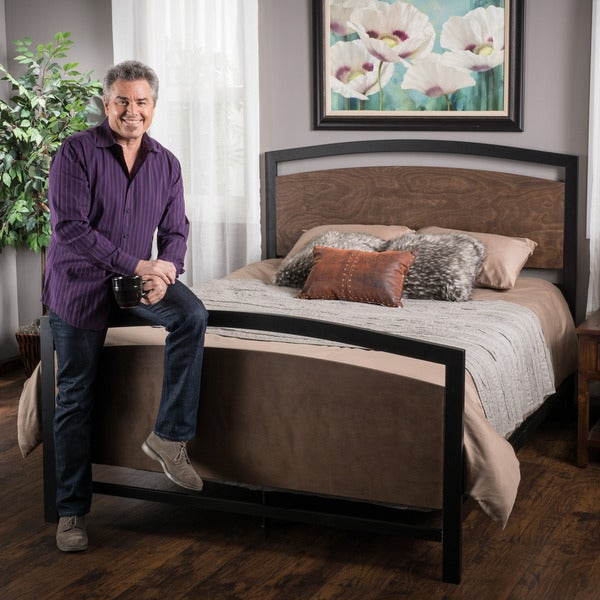 Shop Christopher Knight Home Vineyard Queen Bed Free