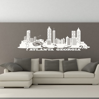 Atlanta Skyline Wall Decal