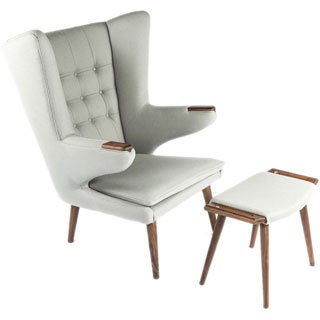 Hans Andersen Home Olsen Lounge Chair and Ottoman