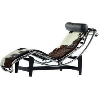 Hans Andersen Home Equestrian Chaise Metal Lounge Chair