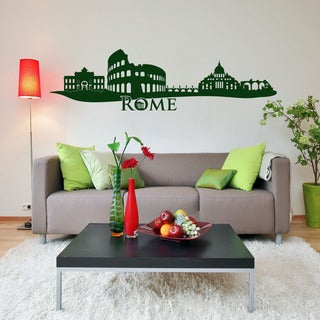 Rome Skyline Wall Decal