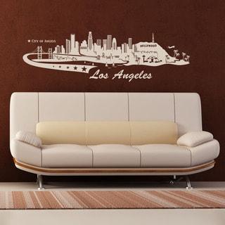 Los Angeles Skyline Wall Decal