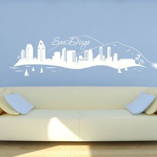 San Diego Skyline Wall Decal
