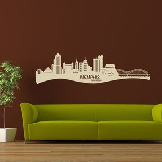 Memphis Skyline Wall Decal