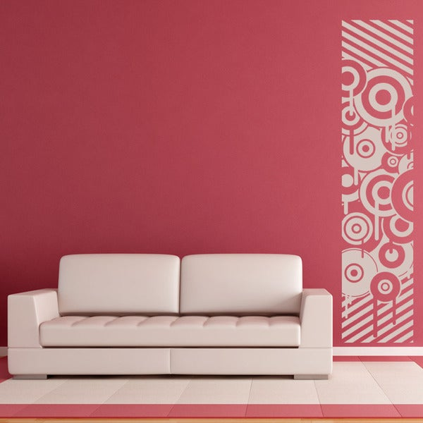 Retro Stripes Wall Decal