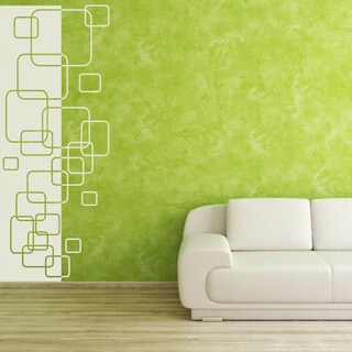 Polygon Decorative Strip Wall Decal