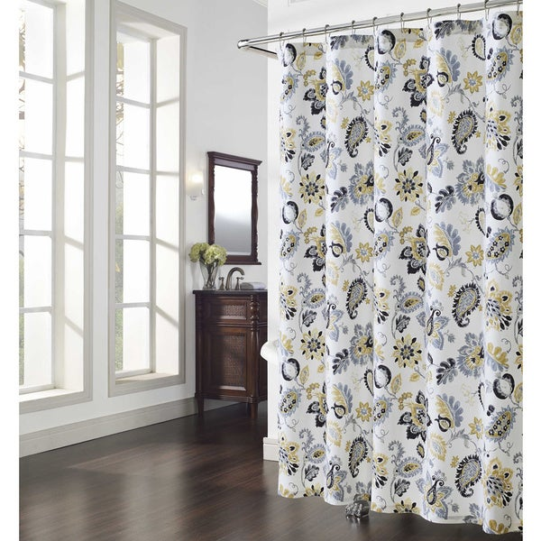 Shop Bijoux Paisley Shower Curtain