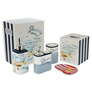 Sherry Kline La Boracay Coastal 6-piece Bath Accessory Set