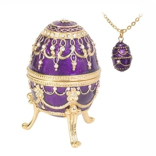 "Austrian Crystal Musical ""Endless Love"" Faberge Egg"