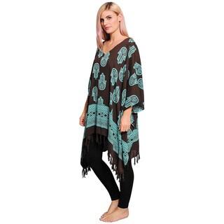 Women's Hamsa Pattern Beach Cover/ Dress (Indonesia)