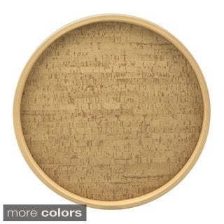 Cork 14-inch Round Serving Tray