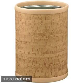 Cork 10.25-inch Round Wastebasket