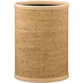 Cork 14-inch Oval Waste Basket