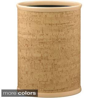 Cork 14-inch Oval Waste Basket|https://ak1.ostkcdn.com/images/products/9824899/P16989782.jpg?impolicy=medium