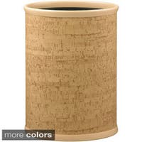 Cork 14-inch Oval Waste Basket