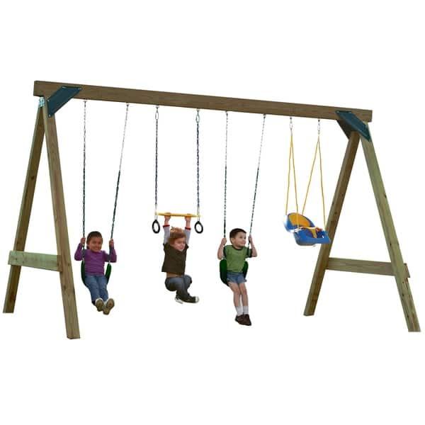 Shop Swing N Slide Scout Swing Set Diy Hardware Kit Lumber