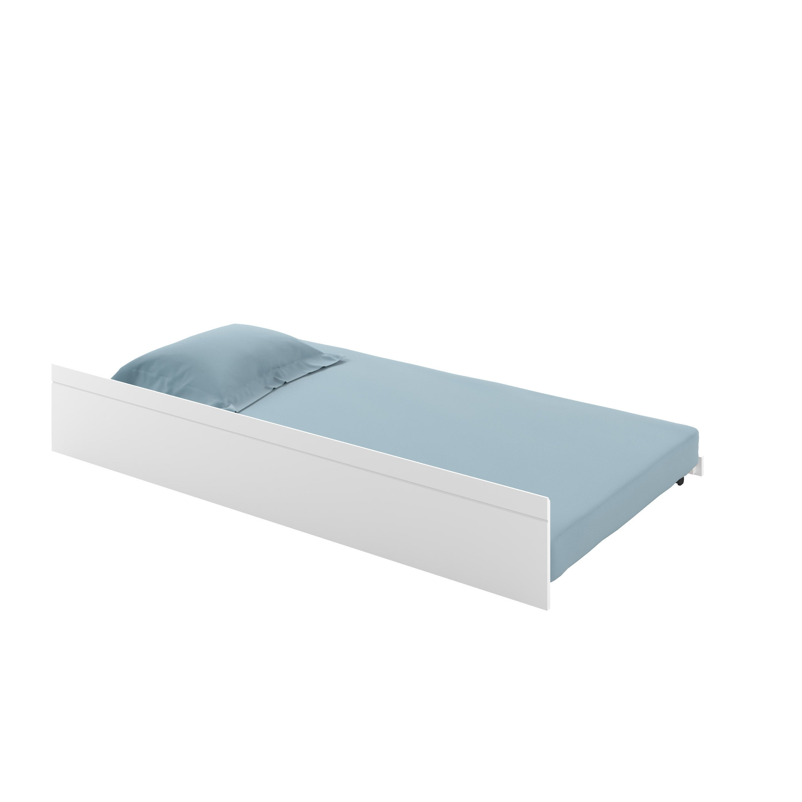 CorLiving Ashland Trundle Bed (White - Painted/White Fini...