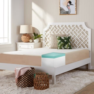 Comfort Dreams Select-a-Firmness 11-inch Queen-size Gel Memory Foam Mattress - Multi