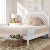 Comfort Dreams Select-a-Firmness 14-inch Twin-size Copper Gel Memory Foam Mattress - Multi