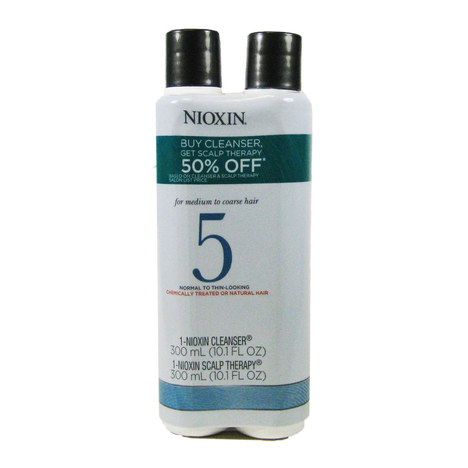 Nioxin System 5 10.1-ounce Cleanser/ Scalp Therapy Duo (N...