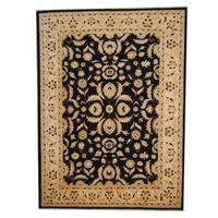 Herat Oriental Afghan Hand-knotted Vegetable Dye Oushak Wool Rug - 8'4 x 11'5