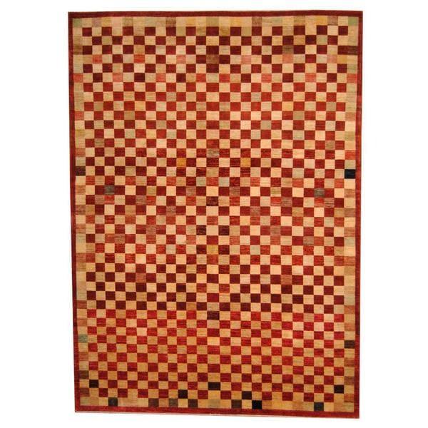 Herat Oriental Afghan Hand-knotted Vegetable Dye Tibetan Wool Rug - 9' x 12'4