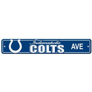 Indianapolis Colts Ave Street Sign