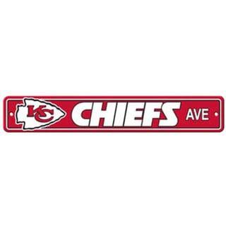 Kansas City Chiefs Ave Street Sign