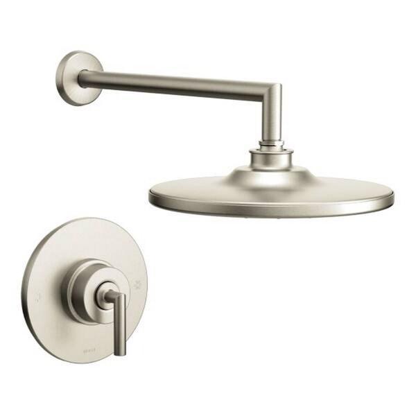 Moen Arris Brushed Nickel Positemp Shower Fixture Free