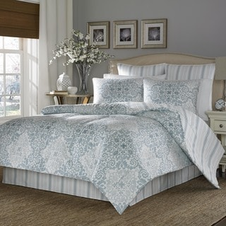 Stone Cottage Valencia 100-percent Cotton Sateen 3-piece Duvet Cover Set